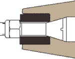 Drawing of Gundlach Crushers Cage-Paktor Cage Mill