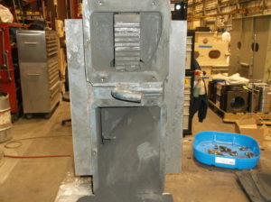 Jeffrey Rader feeder power unit not properly maintained